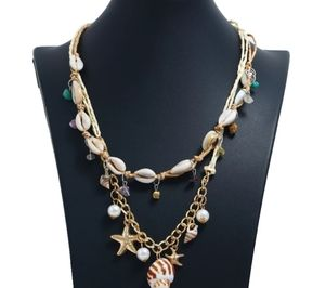 New Bohemians Beach Necklace Sea Shells Handmade 1
